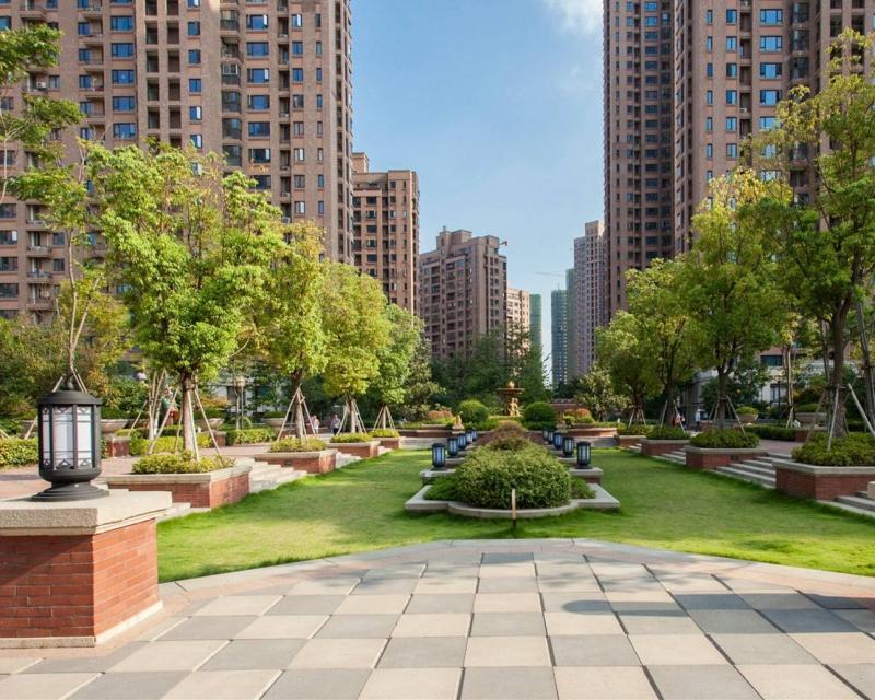 武汉小区绿化